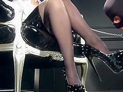 Cumshot high heels high heels