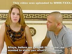 Gagarina defloration alesya Beautiful Young