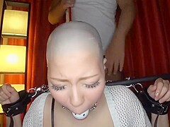 Porn head shave Forced Head