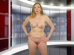 Naked news Unearthed video