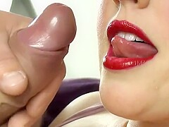 Slow Blowjob Cum In Mouth