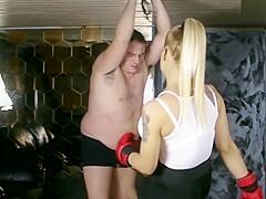 Ballbusting Punching Bag