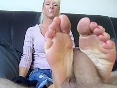 Friends Mom Feet Tickle My mom was tickling my