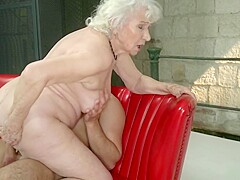 Pussy granny shaved Shaved Tube