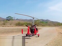 Girl naked gyrocopter It's A
